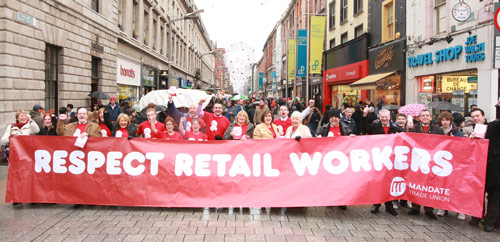 CAMPAIGNS - Mandate Trade Union Ireland